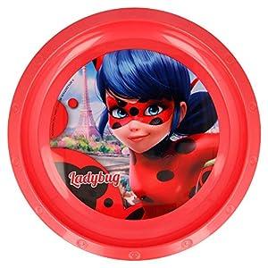 Lady Bug Miraculous- Plato de plastico (STOR 86912)