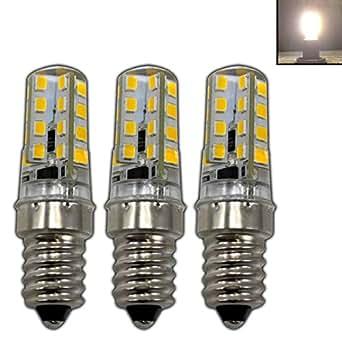 3 lampadine mini led e14 mini 2 5 watt silicone bianco for Lampadine led 100 watt