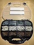 1040tlg. Schrauben Dübel Nägel Set inkl. Bithalter und 3x TX Bits