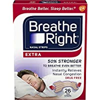 Breathe Right Extra Nasal Strips For Snore Relief - 26 ea / box preisvergleich bei billige-tabletten.eu