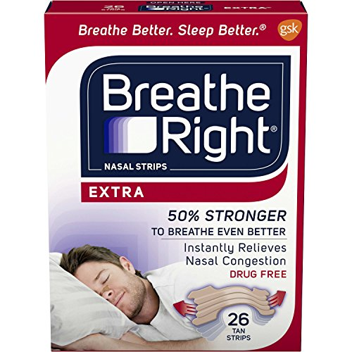 Breathe Right Extra Nasal Strips For Snore Relief - 26 ea / box -