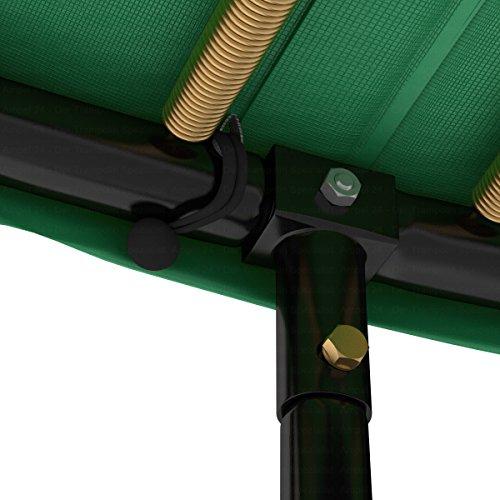 Ampel 24 Trampolin Randabdeckung Deluxe | max. Schutz durch doppelte Dicke | passend für Ø 180 – 185 cm | reißfest | 100% UV-beständig | grün - 4