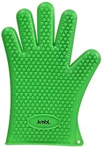 jumbl hitzebest ndige texturierte silikon handschuhe im set 2 handschuhe im lieferumfang. Black Bedroom Furniture Sets. Home Design Ideas