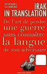 Irak in translation par Guidère