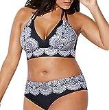 Maillot de Bain 2 Pièces Femme Push Up Shorty Pas Cher Bikini Brésilien Femme Sexy...