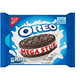 Oreo Mega Stuffed Chocolate Cookies, 13.2 Ounce