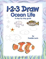 1-2-3 Draw: Ocean Life