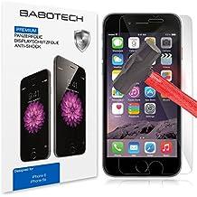 1 x Set BaboTech® Premium Panzerfolie Display Schutzfolie für Apple iPhone 6 / 6s Klar Extrem Shock-Absorbierend