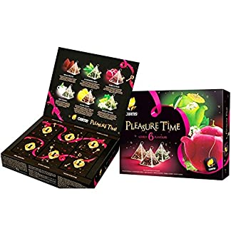 Curtis-Tee-Set-Pleasure-Time-Pyramidenbeutel-Tea-Collection-Geschenkset