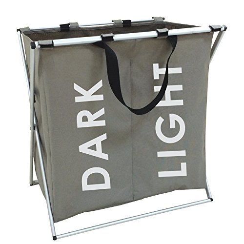 Msv ms382-pongotodo, motivo: dark light, 56 x 36 x 58 cm, alluminio e nylon, colore: beige
