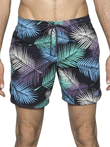 O'neill maillot de bain pour homme pM thirst short de surf noir - black aop w/ white