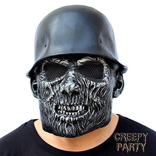 creepyparty-mascara-de-cabeza-humana-de-fiesta-de-traje-lujo-de-halloween-de-novedad-casco-de-zombi