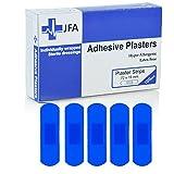 JFA blau Medium Strip Pflaster 19X 72mm 100Pflaster Pro Packung