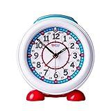 Reloj Despertador Infantil EasyRead Time con luz Nocturna y Esfera roja y Azul en Formato DE 24 Horas