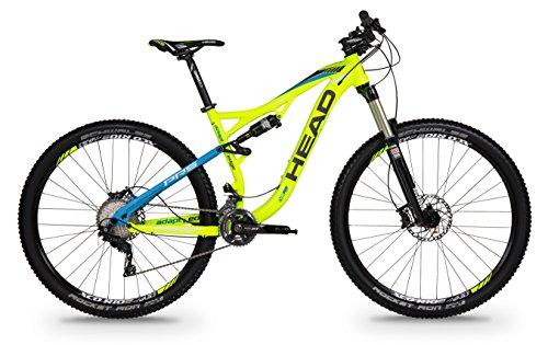 "Bicicleta HEAD ADAPT EDGE III 29"" amarillo mate/azul"