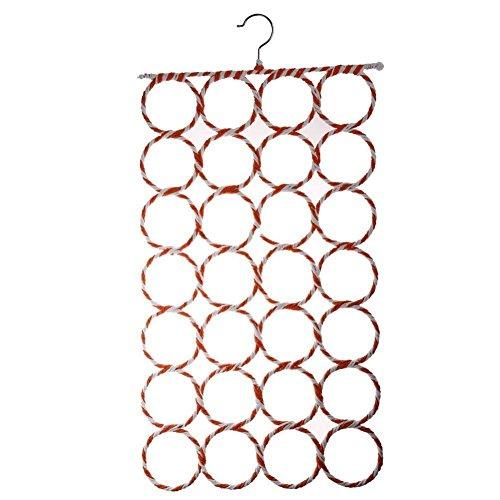 Scrox Kreative 28 Kreis Schal Halter Schal Hängen Rack für Wraps Schal Schal Aufbewahrungsbox Organizer Tie Gürtel - Papier Wrap-halter
