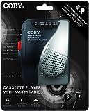 Coby cvr-28-blk am/FM Kassetten Rekorder mit Stereo-Ohrhörer, Schwarz