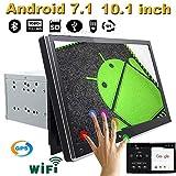 2DIN Android 7.1.125,7cm Autoradio 2DIN de Navigation GPS de Voiture Radio stéréo de Voiture GPS Bluetooth USB/SD Lecteur Universel 3/4G WiFi