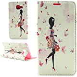 IBEQUANIC Coque Pour Galaxy A5 2016, Etui Housse en Bling Bling PU Cuir Pour Samsung Galaxy A5 2016 A510F P004