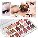 Vovotrade Oogschaduw palette Eyeshadows Oogschaduw, palet met 18 glanzende en matte huidkleuren (mehrfarbig B)