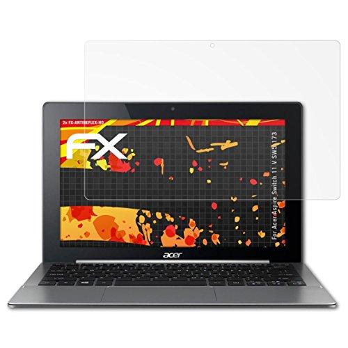 atFolix Schutzfolie kompatibel mit Acer Aspire Switch 11 V SW5-173 Bildschirmschutzfolie, HD-Entspiegelung FX Folie (2X)