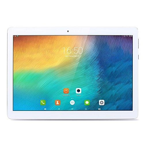 """Teclast 98 MT6753 Octa Core 10.1"""" Display OGS IPS 1920*1200, Android 6.0 OS, 5MP+2MP Doppia Fotocamera, Supporto OTG GPS Dual 4G Dual WiFi Tablet PC 4G Phablet, Bluetooth 4.0, Batteria 4900mAh, Argento"""