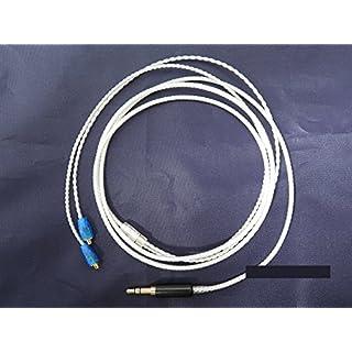 AUDIO123 Silber überzogene + OFC Hifi-Kabel für Shure SE215 SE315 SE425 SE535