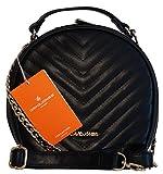 Borsa donna mini bag David Jones in ecopelle lavorazione matelassé portabile a mano, a spalla e a tracolla - David Jones - amazon.it