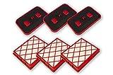 Sparangebot: 3 HEPA H12 Filter Hygiene Mikrofilter + 3 Aktiv Kohlefilter Lux 1, Lux 1 Classic, Lux 1 Royal, Lux D 820