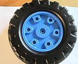 Big Hinterrad Ersatzrad rechts Antriebsrad mit Felge blau für Big Traktoren für Jimmy, Jake und Jeff