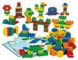 LEGO DUPLO Grundelemente / 160 Bausteine 6 doppelseitige Baukarten mit Ideen und Anleitungen / für Kinder von 3 - 5 Jahren!