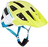 Cratoni Uni AllSet Fahrradhelm AllSet, Weiß/Gelb, Gr. 58-61 cm (Herstellergröße: M-L)