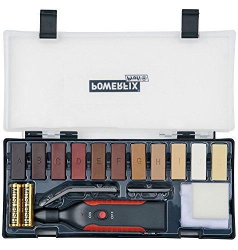 POWERFIX® Reparatur-Set für Laminat, Parkett, Kork, sämtliche Holz- und Kunststoffoberflächen