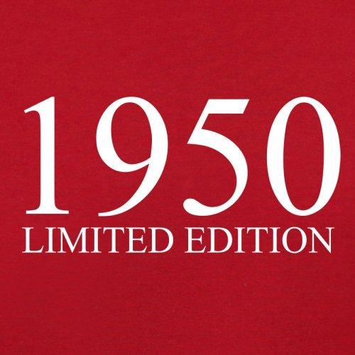 1950 Limierte Auflage / Limited Edition - 67. Geburtstag - Herren T-Shirt - 13 Farben Rot