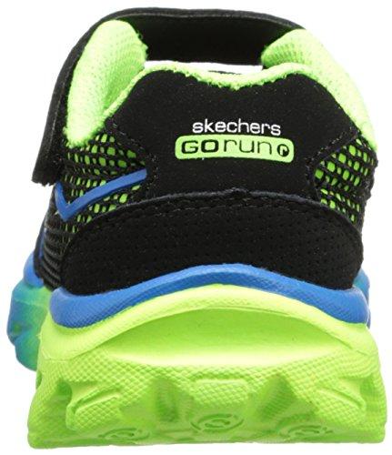 Skechers GO Run RideLil Rider Jungen Sneakers Schwarz (Bkgr)