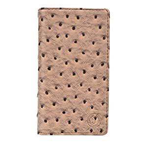 Jo Jo Cover Croc Series Leather Pouch Flip Case For Lenovo P70 Pale Taupe