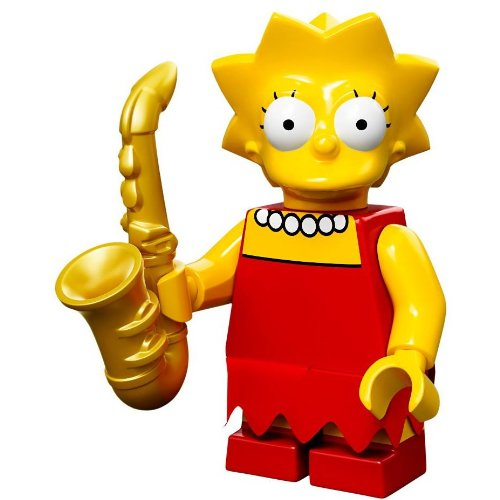 Lego Minifiguras serie 71005 - LISA Simpson