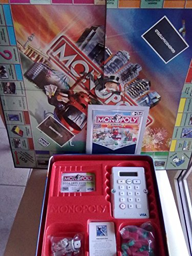 MONOPOLY BANKING IN JUBILAUMS BOX VISA exclusiv Edition Kartenleser