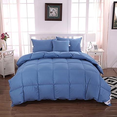 Unite–75% piumino trapunta/comforter/duvet, 100% cotone biologico, 13.5Tog