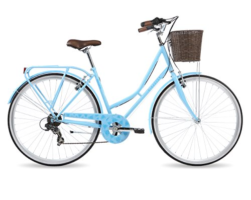 Kingston Women's Hampton Classic Traditional Bike – Baby Blue, 16 Inch