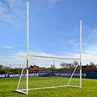 FORZA 12ft x 6ft Combination Football / Rugby / Gaelic Goal & Net – Perfect For Young Stars To Play Multiple Sports! [Net World Sports]