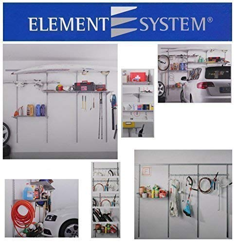 Regalsystem für Garage Modular Plus Basic Kit + Storage Set 1 + Storage Set 2 - 2 Regal-modular-storage