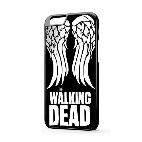 Personalizzati iPhone 6/6s (4.7 Version) Cover [LDAFGLH612020][VALENTINO ROSSI TEMA] Cover per iPhone 6/6s (4.7 Version) [COLOR/NERO] THE WALKING DEAD DARYL DIXON WINGS HARD - 016