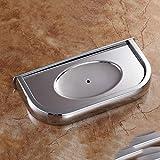 JIAYOU Alle Kupfer-Mode Einfache Seifenkiste Seifen Regal Abfluss Seifen Regal Seifen Tablett Kreatives Haus