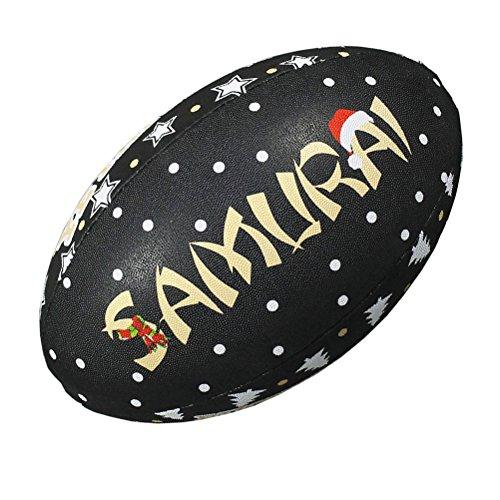 Samurai Weihnachten O Scrum Rugby Ball–Größe 5