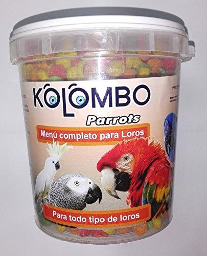 Crocchette extrusionado per qualsiasi tipo di pappagalli Kolombo, formato 1,8kg)