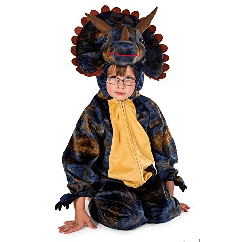 Natural History Museum Triceratops Fancy Dress Costume (Official Licensed) - Kids Costume 3 - 5 years