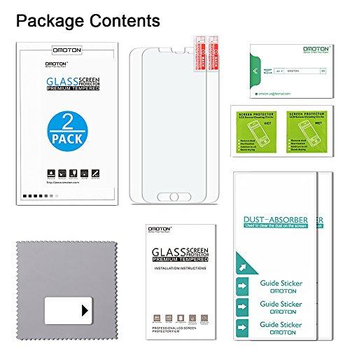 [2 Stück] OMOTON Panzerglas Displayschutzfolie für Samsung Galaxy S5, Anti-Kratzen, Anti-Öl, Anti-Bläschen, lebenslange Garantie - 7