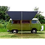 DEBUS Campervan Sun Canopy Awning - Anthracite Grey 11