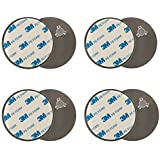 Lumaland kit de fixation magnétique pour détecteur de fumée 4 pièces